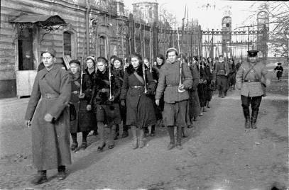 Женщина в Великой Отечественной войне