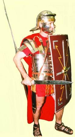 Военное дело у римлян во времена Цезаря