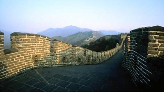 Китайська стіна, шовковий шлях та їх історичне значення