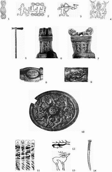 Кузнецкая земля в эпоху бронзы и железного века